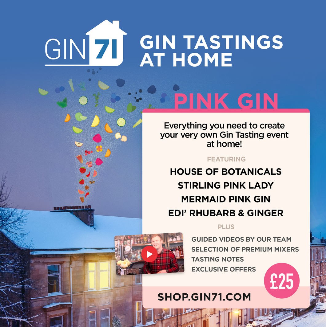 Pink Gin Tasting at Home