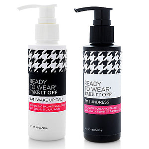 TAKE IT OFF AM & PM CLEANSER DUO
