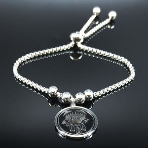 Flower of Life Stainless Steel Bracelets