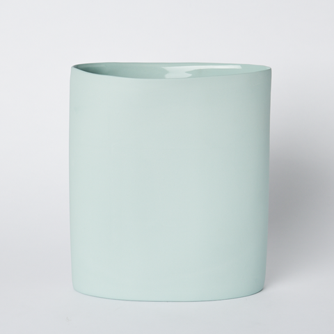 MUD Oval Vase Large - Blue