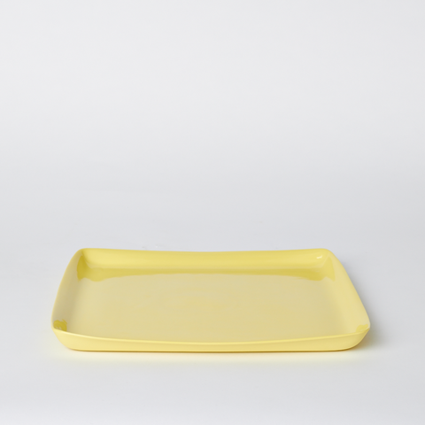 MUD Square Platter Large - Yellow