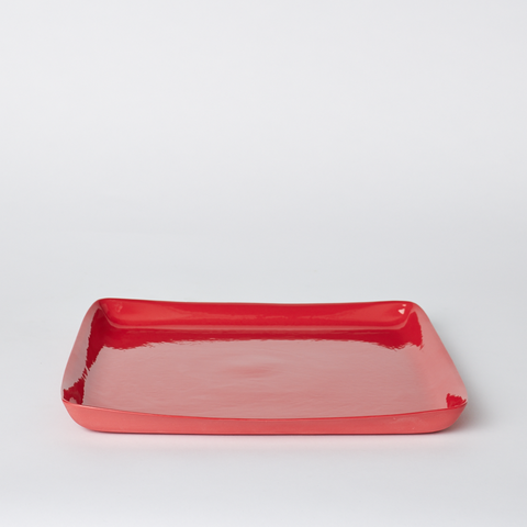 MUD Square Platter - Red