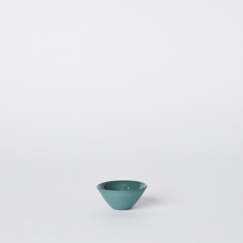 MUD Salt Dish - Bottle Green