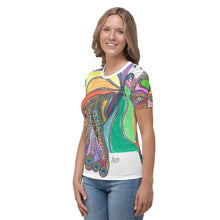 "Load image into Gallery viewer, Women's T-shirt - ""Beauty"" by Mina"