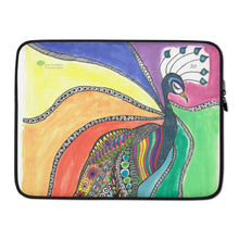 "Load image into Gallery viewer, Laptop Sleeve - ""Beauty"" by Mina"
