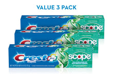 Load image into Gallery viewer, Crest Complete Whitening + Scope Toothpaste ( 6.5 oz., 5 pk.)