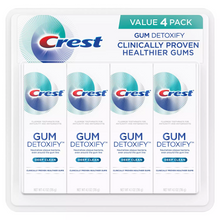 Load image into Gallery viewer, Crest Gum Detoxify Toothpaste, Deep Clean (4.1 oz., 4 pk.)