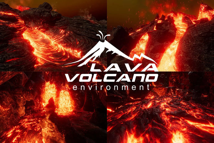 How to get Lava and Vulcano Environment Unity Asset for free
