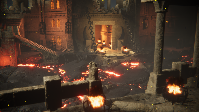 Recommended Asset: Lava & Vulcano Environment