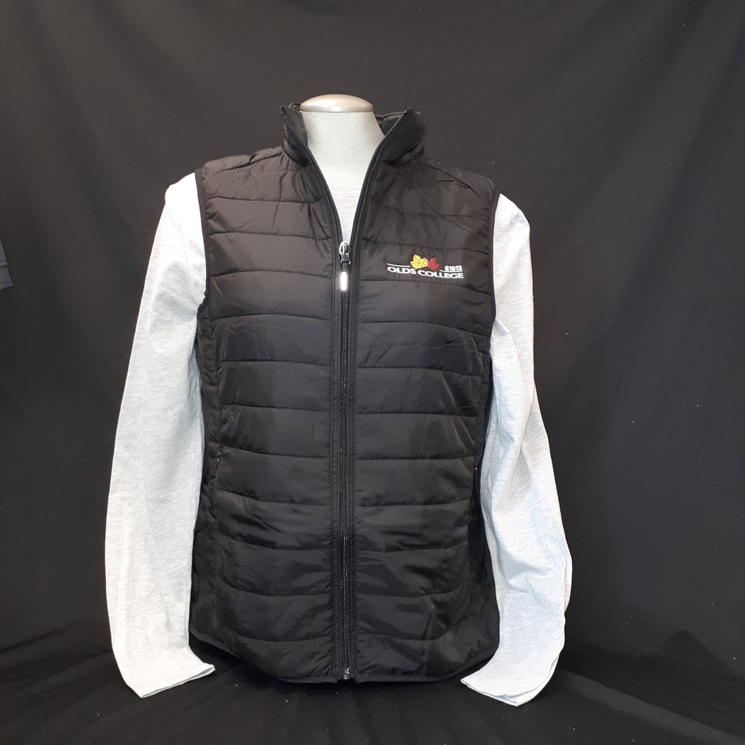 Vest Packable Puffer Ladies Black