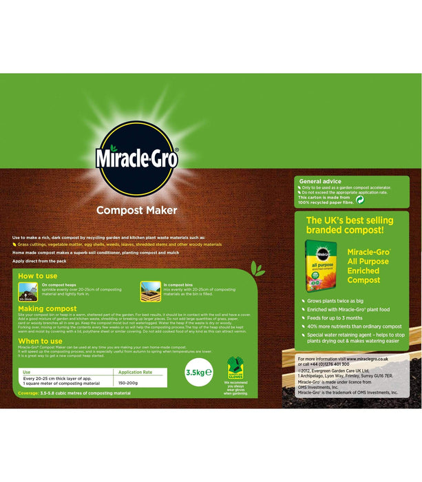 Miracle-Gro Compost Maker Miracle-Gro Compost Maker 3.5 kg carton