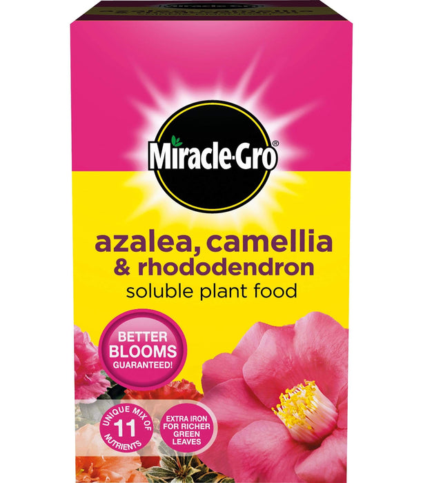 Miracle-Gro Ericaceous Plant Food Miracle-Gro Azalea, Camellia & Rhododendron Soluble Plant Food 1 kg carton