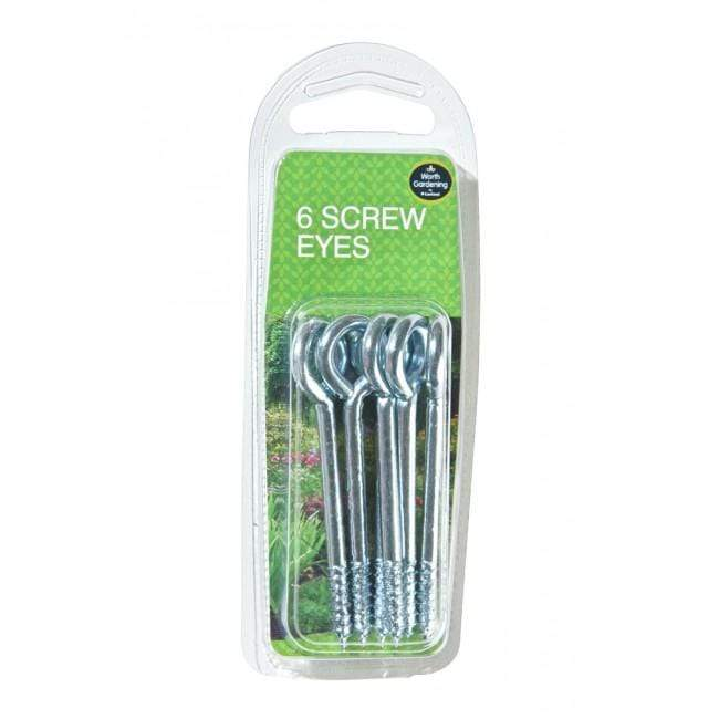 Garland Garden Accessories Garland Screw Eyes 6 Pack