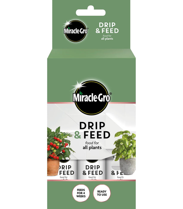 Miracle-Gro House Plant Food Miracle-Gro Drip & Feed All Purpose 3 Pack