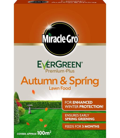Miracle-Gro Lawn Care Miracle-Gro EverGreen Premium Plus Autumn & Spring Lawn Food 2kg (100m²)