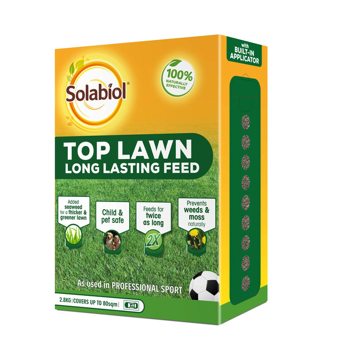 Solabiol Lawn Care Solabiol Top Lawn Long Lasting Feed 28kg 80m2