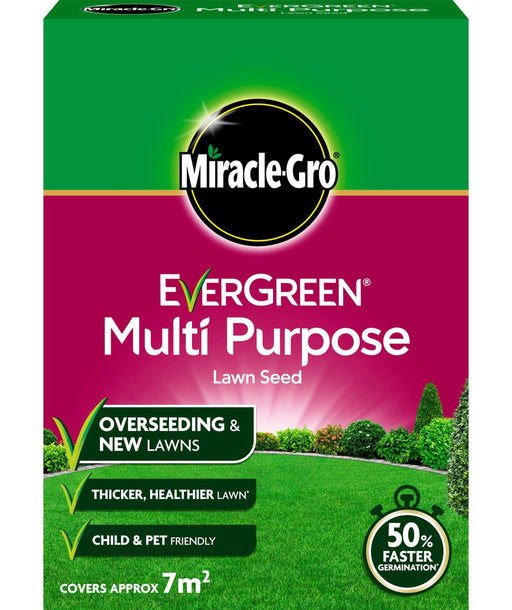 Miracle-Gro Lawn Seed Miracle-Gro EverGreen Multi Purpose Lawn Seed 210g 7m2