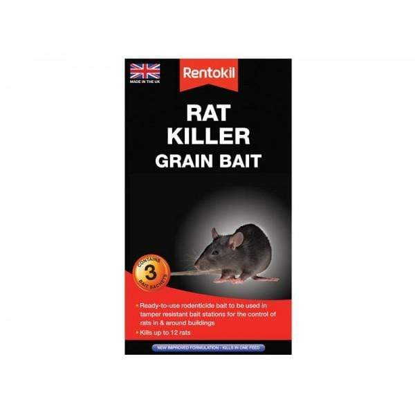 Rentokil Mouse & Rat Killer Rentokil Rat Killer Grain Bait
