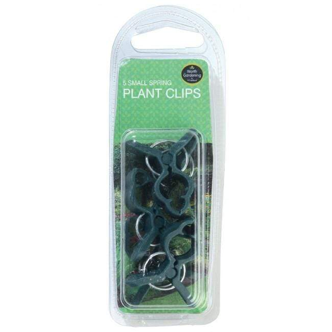 Garland Plant Clips & Rings Garland Small Spring Plant Clips 5 Pack