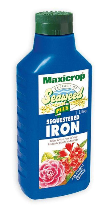 Maxicrop Plant Food Maxicrop Plus Sequestered Iron 1L