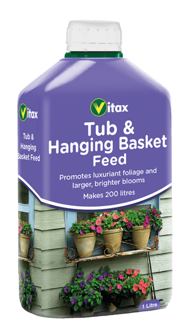Vitax Plant Food Vitax Tub & Hanging Basket Feed Concentrate 1L
