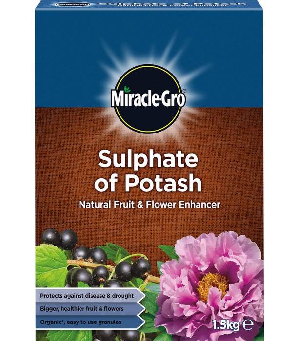 Miracle-Gro Soil Enhancement Miracle-Gro Sulphate of Potash 1.5 kg carton