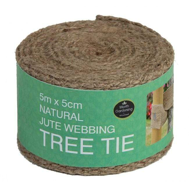 Garland Tree Ties Garland Natural Jute Wedding Tree Tie 5m x 5cm