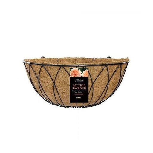 Tom Chambers Wall Basket Tom Chambers Lattice Hay Rack With Coco Liner