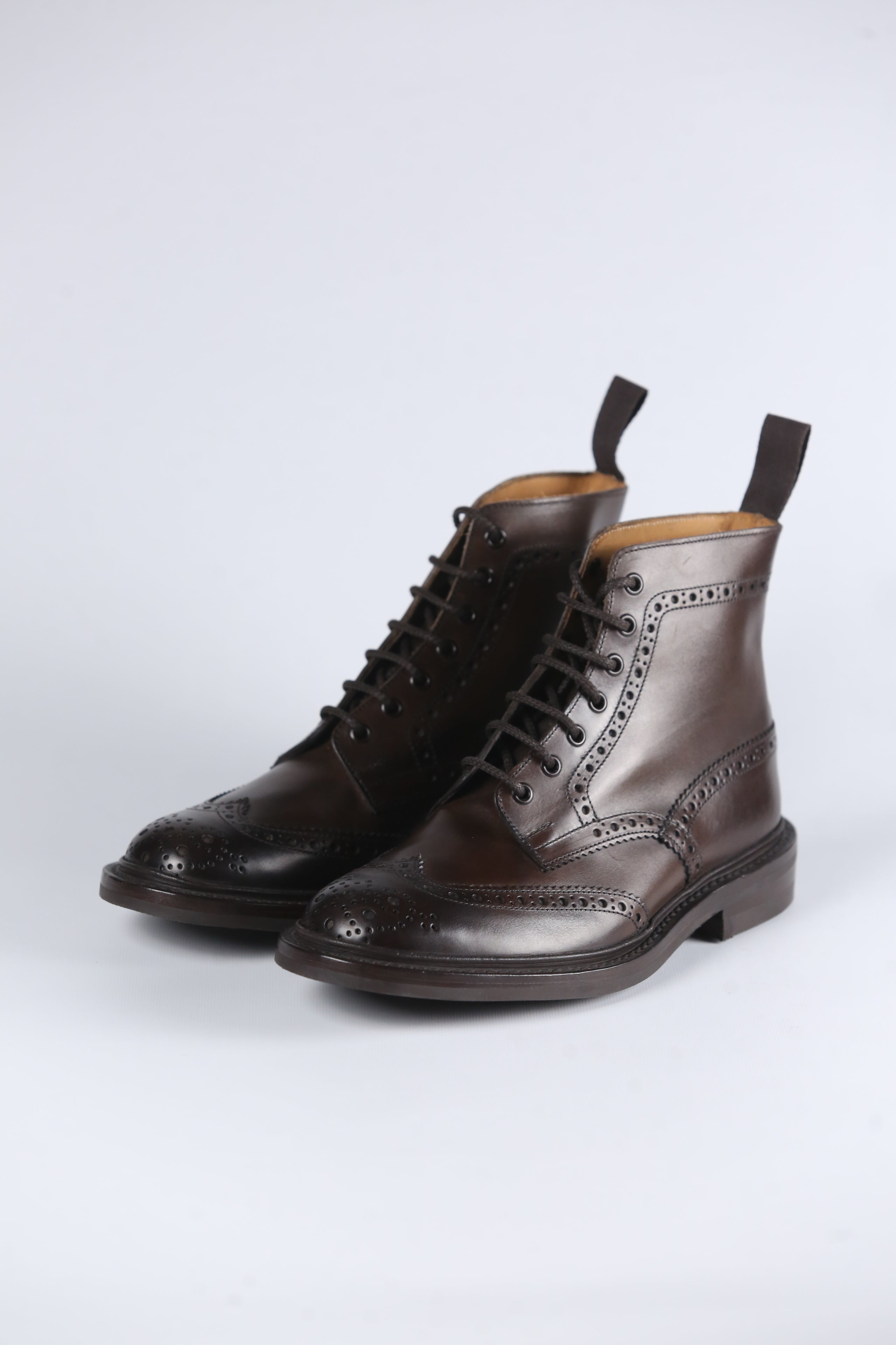 TRICKER'S - STOW CALF BROGUE TR15/07/171 - ESPRESSO