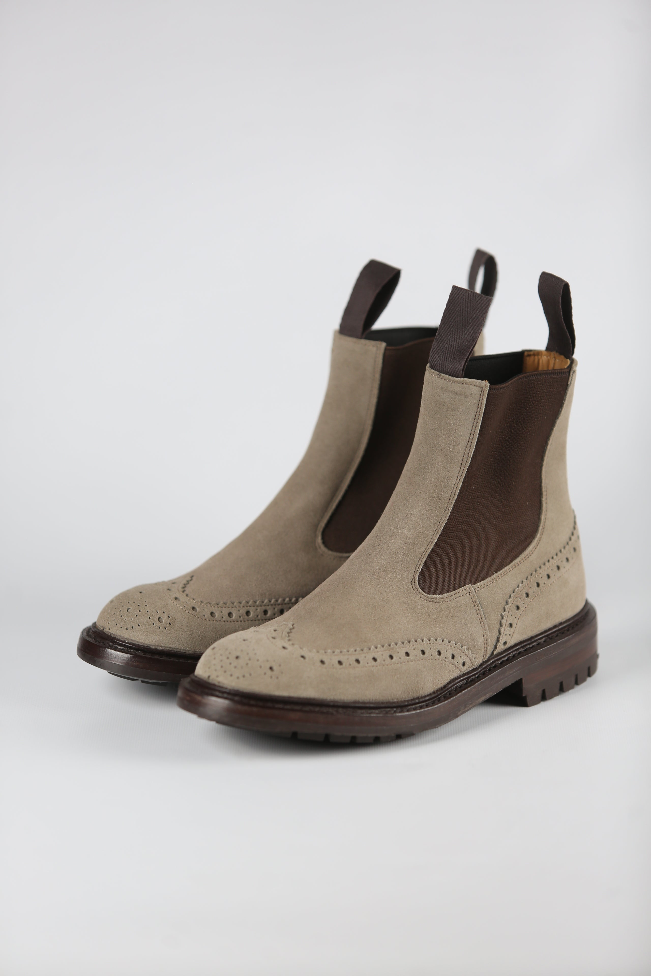 TRICKER'S - SILVIA SUEDE TR15/02/132 - SHALE