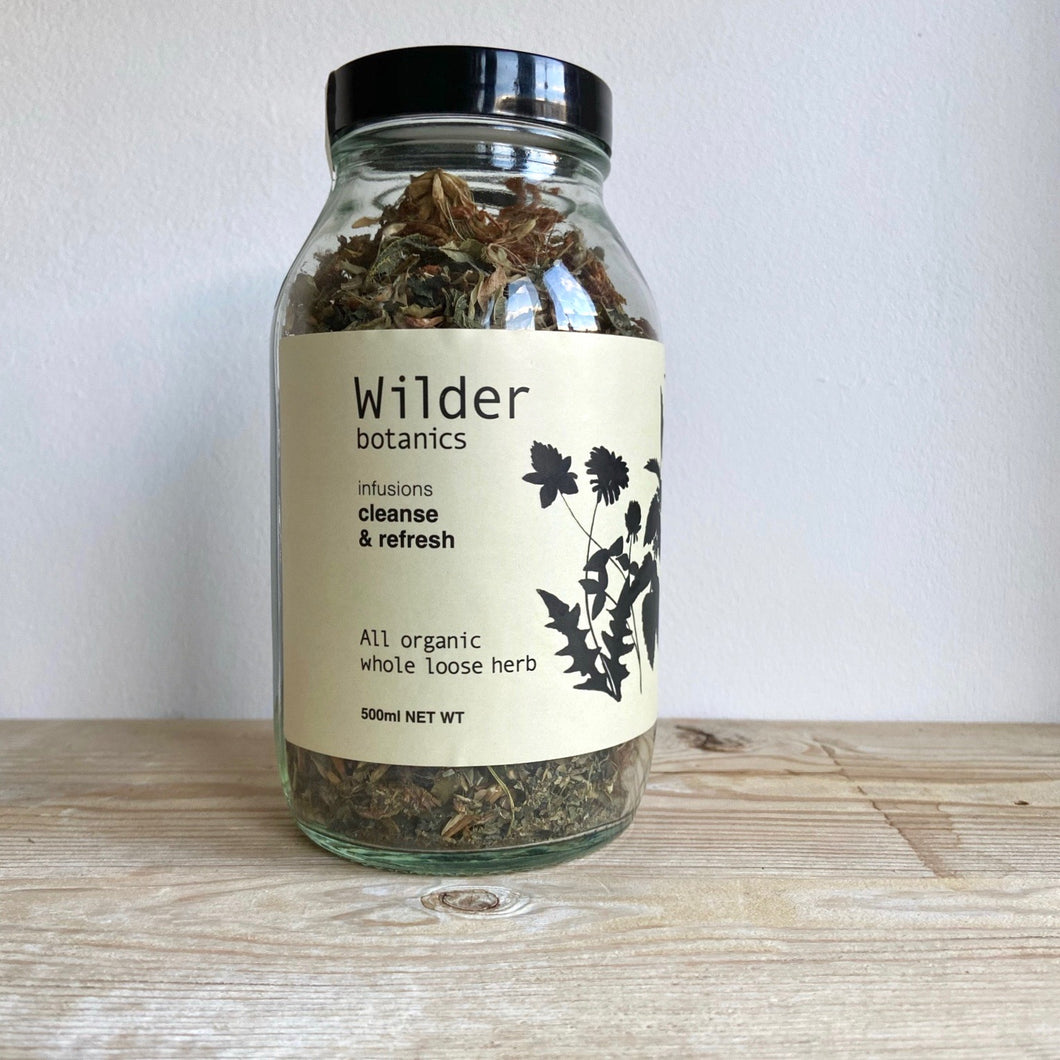 Wilder Botanics Cleanse & Refresh Organic Loose Tea