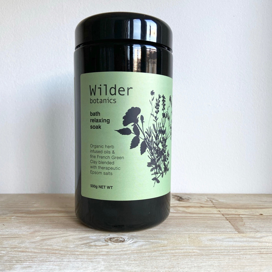 Wilder Botanics Relaxing Soak Bath Salts