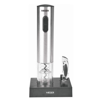 Electric Corkscrew Haeger Lucca Pack Rechargeable