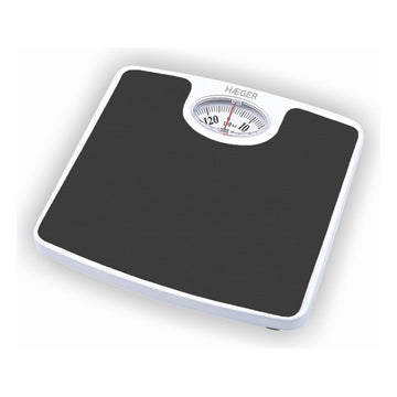 Analogue Scales Haeger Black/White 130 KG
