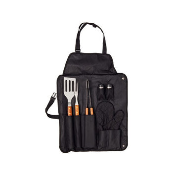 Apron with Barbecue Utensils (7 pcs) 143382
