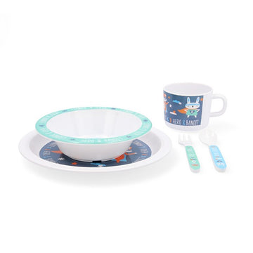 Tableware Quid Go Hero Melamin (5 pcs)