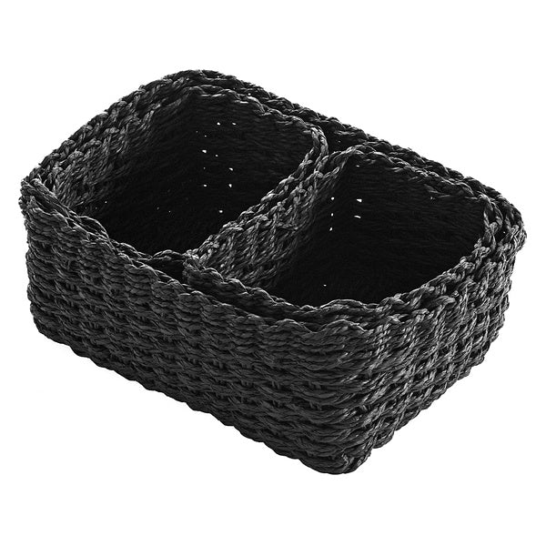 Basket set (3 Pieces) (19 x 12 x 26 cm)