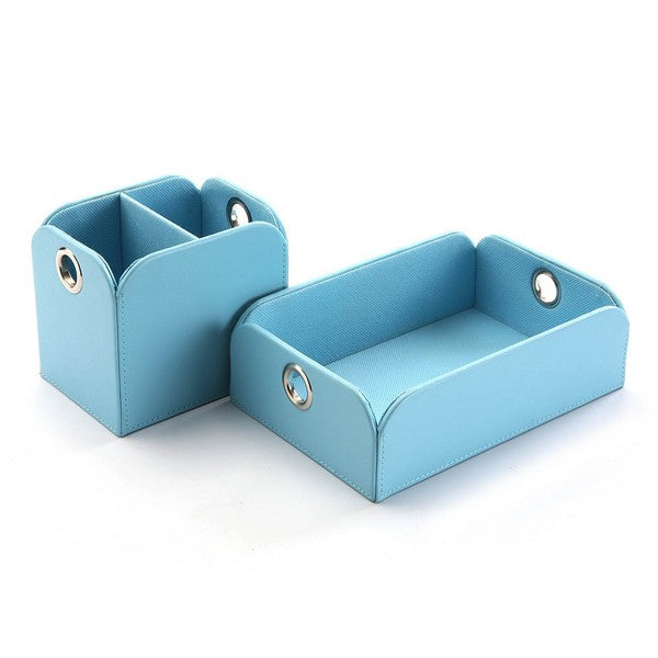 Valet Tray Polyester Blue