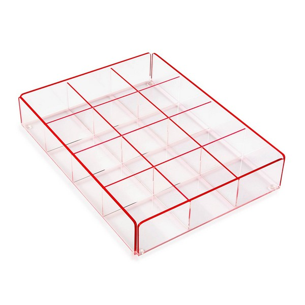 Tea Box polypropylene (20 x 5 x 27 cm)