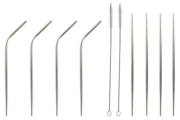 Reusable Drinking Straw Dekodonia Stainless steel (10 pcs)