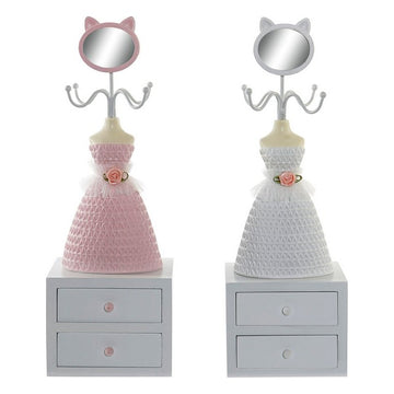 Jewellery Stand Dekodonia With boxes Shabby Chic (2 pcs)
