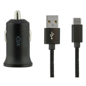 Car Charger KSIX USB 2.4A Black