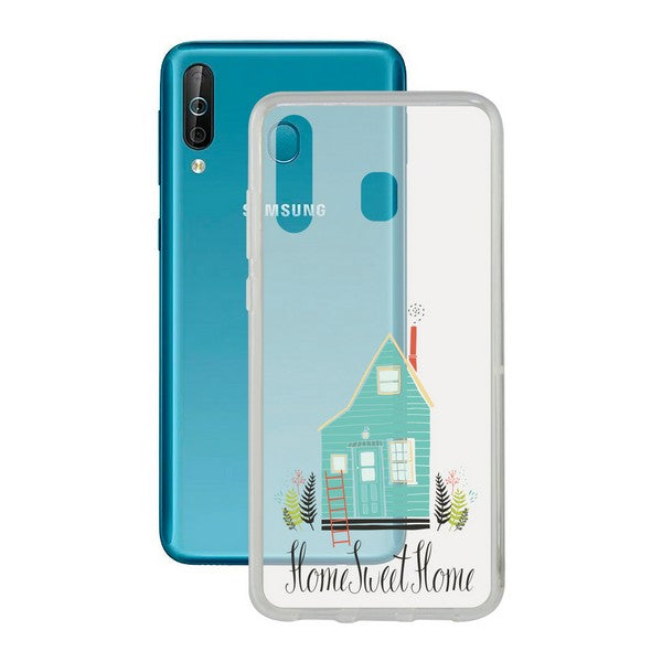 Mobile cover Samsung Galaxy A40s Contact Flex Home TPU