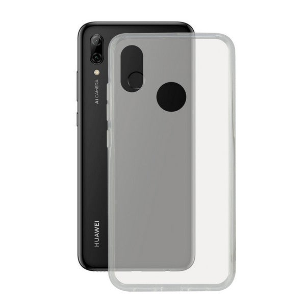 Mobile cover Huawei P Smart Plus 2019 KSIX Flex TPU Transparent
