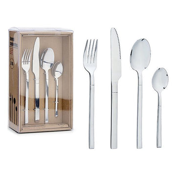 Pieces of Cutlery Silver (7 x 26,5 x 16,5 cm) (16 pcs)
