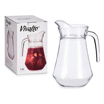 Transparent Glass Jug (1300 ml)