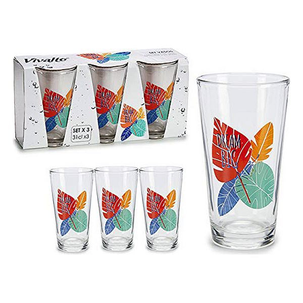 Set of glasses Glass 3 dream (3 Pieces) 31 cl