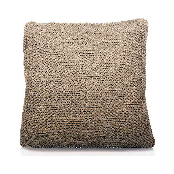 Cushion Wool (60 x 20 x 60 cm) Beige