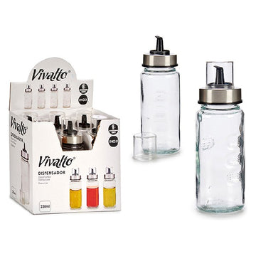 Dispenser Metal Crystal Plastic (230 ml)