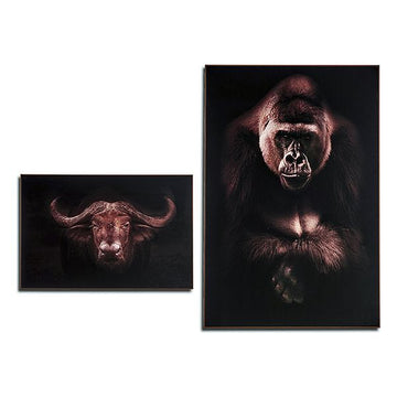 Painting Buffalo - Gorilla Copper MDF (3 x 121,5 x 81,5 cm)